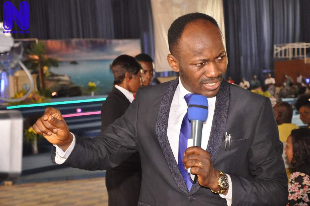 Enemies of Nigeria are within its leadership – Apostle Suleman - Insecurity SULEMAN-1