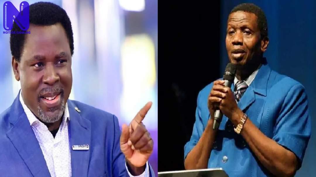 'We shall meet again' – Pastor Adeboye writes SCOAN, says T.B Joshua is with Jesus T