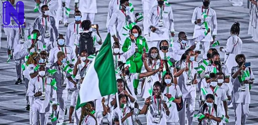 Three Nigerian athletes qualify for finals - Tokyo Olympics TEAM-NIGERIA-2103268