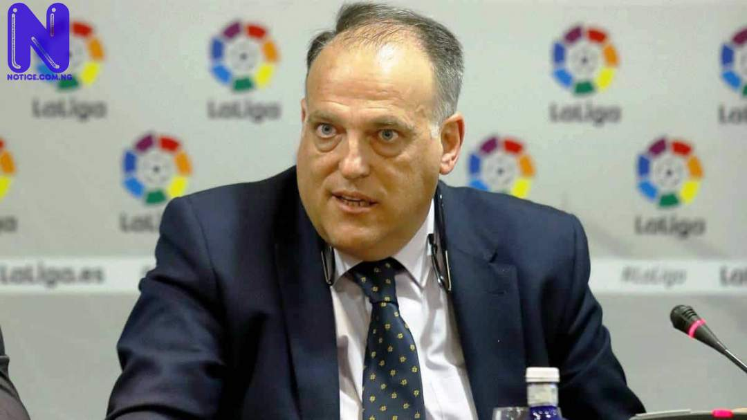 Real Madrid have enough money to buy Mbappe and Haaland next year – LaLiga president TEBAS36047