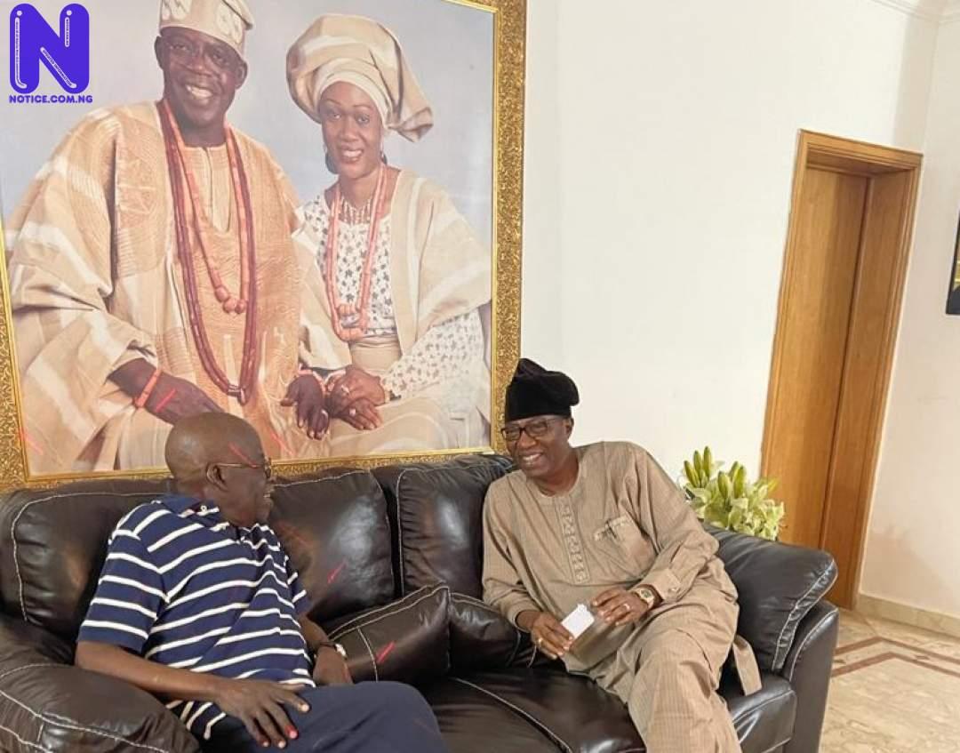Bola Tinubu, Gbenga Daniel meet in Lagos TINUBU-DANIEL-142712