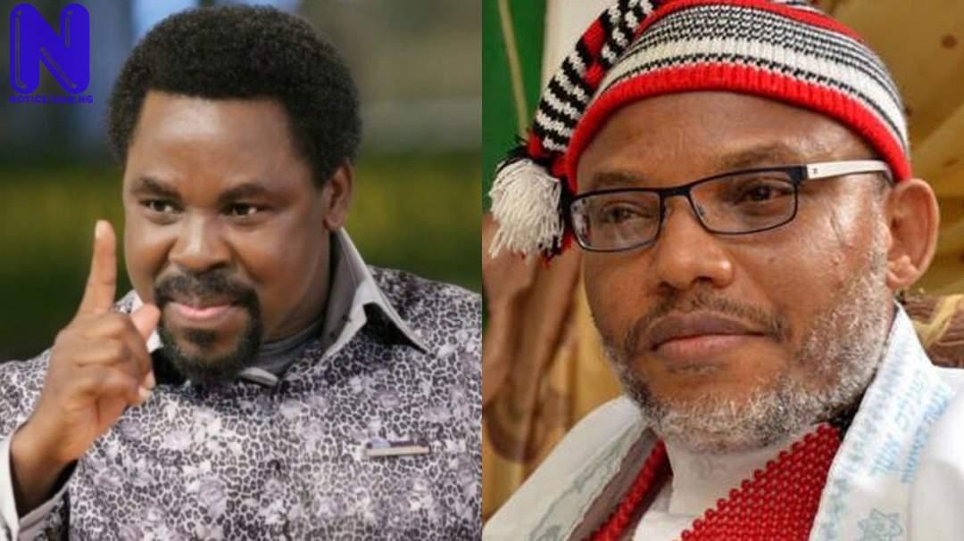 God told me TB Joshua in hellfire, Nnamdi Kanu may die soon – Pastor Peters TPUVMH5X