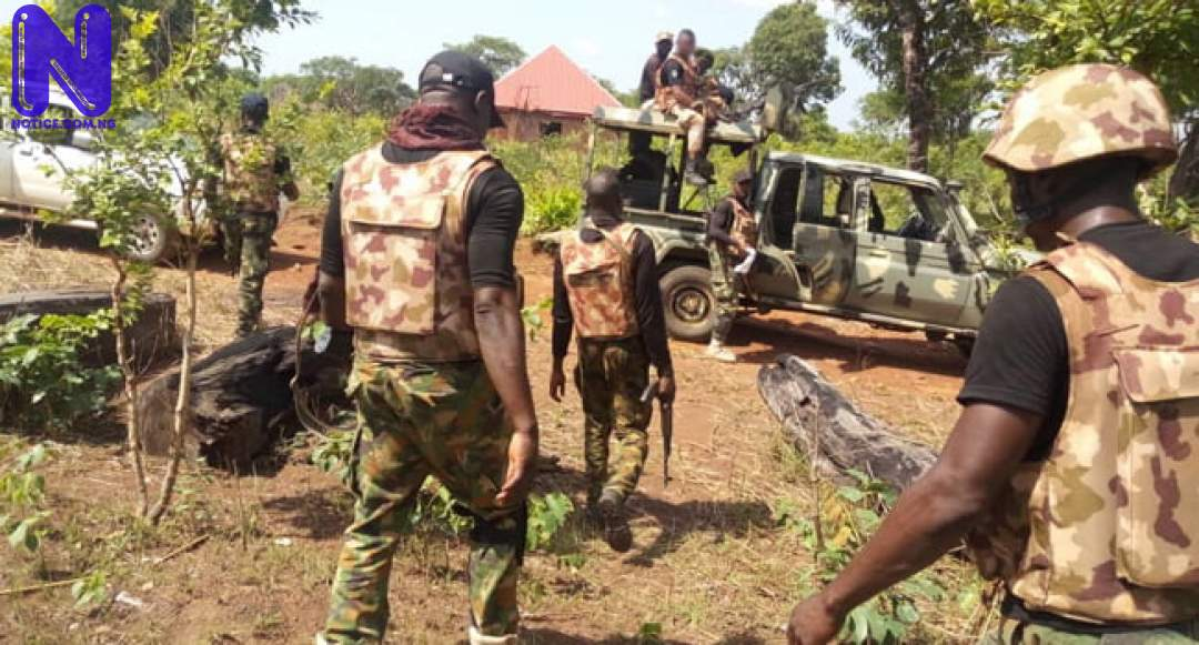 Troops of operation Hadin Kai arrests ISWAP fighters TROOPS-OF-OPERATION-WHIRL-STROKE-NIGERIAN-MILITARY78576