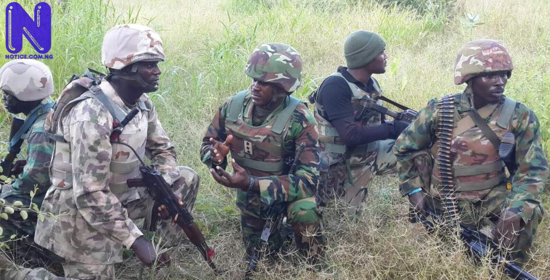 Troops thwart ISWAP attempt to attack military base in Borno TROOPS311269