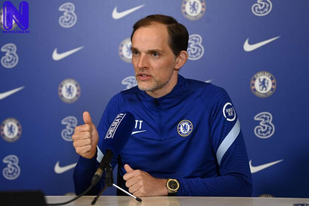 Tuchel confirms player to miss Chelsea, Aston Villa clash - Carabao Cup TUCHEL89136
