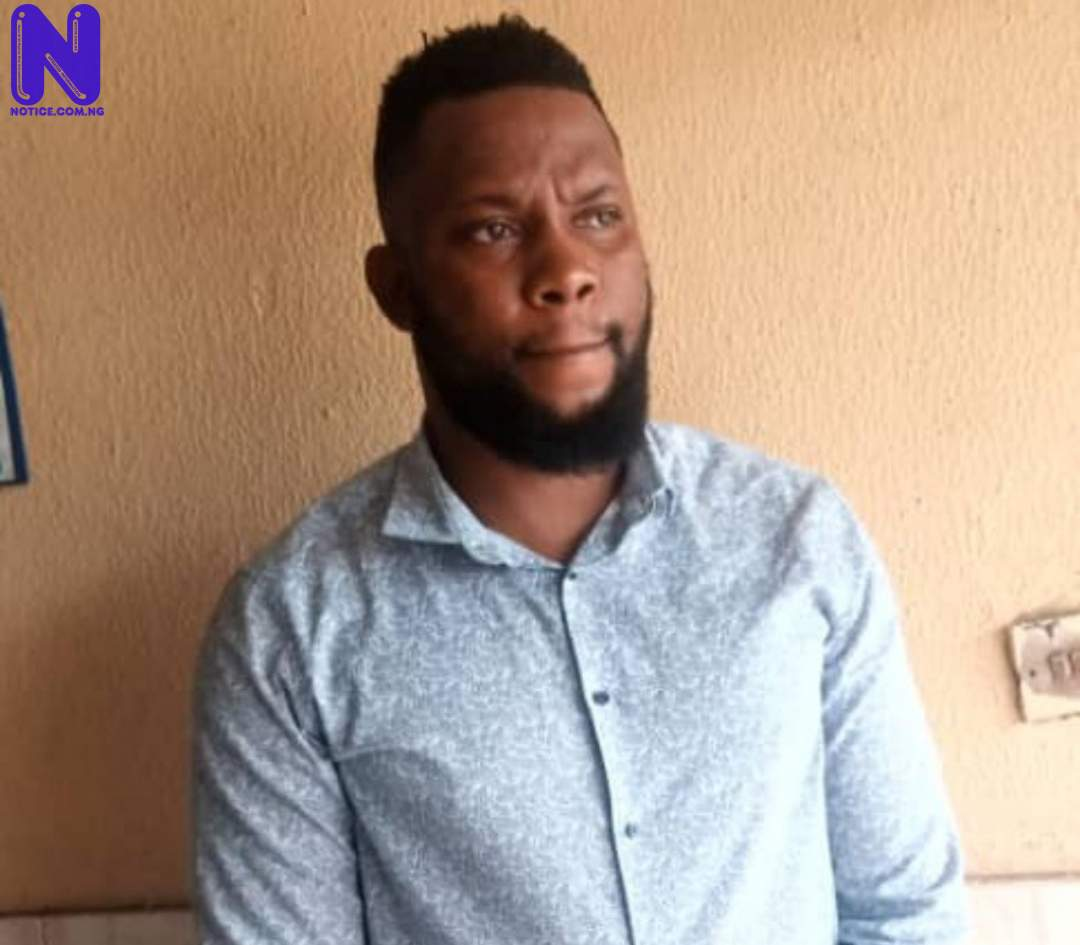 Man arrested in Lagos for allegedly defiling 2-year-old daughter, maid TYHM7BFD