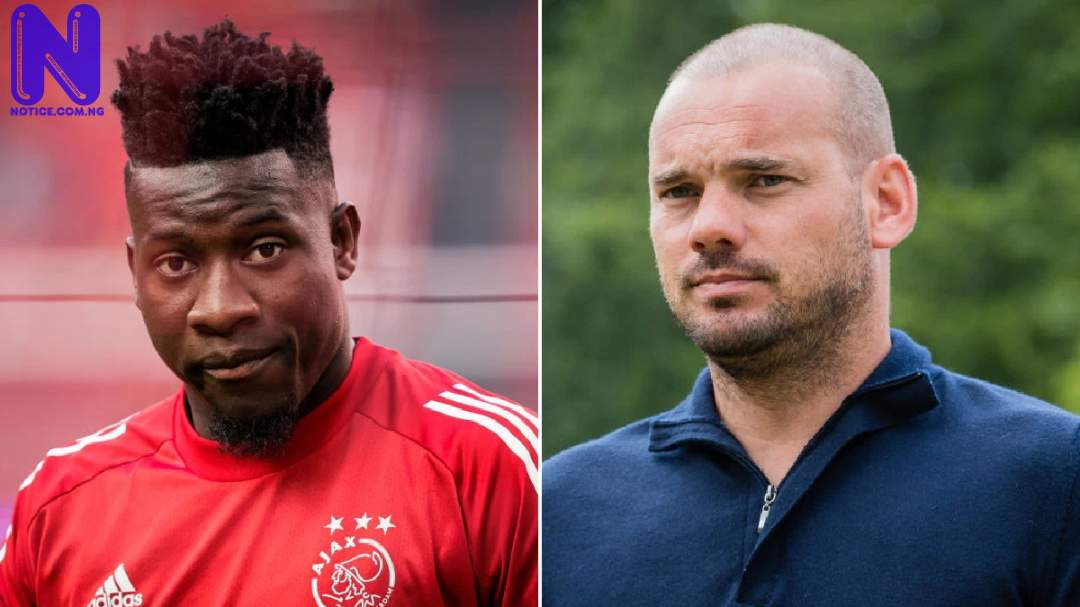Wesley Sneijder tells Onana not to join Arsenal WESLEY-SNEIJDER-ONANA
