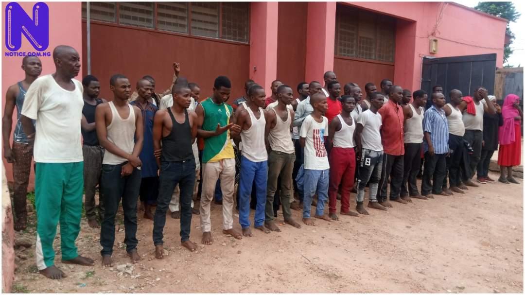 Ondo returns 42 suspected Fulani invaders - Insecurity WGOXOA9U