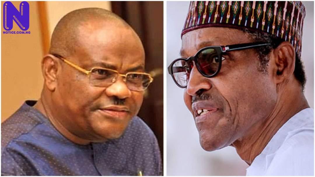 You're president to protect Nigerian People, not just borrowing money – Wike mocks Buhari WIKE-BUHARI