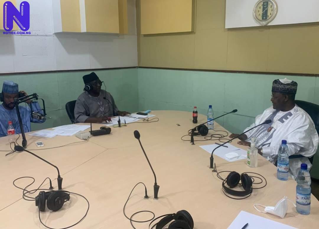 NCC boss, Danbatta discusses telecoms industry on Radio Nigeria Kaduna YOKKCHFM