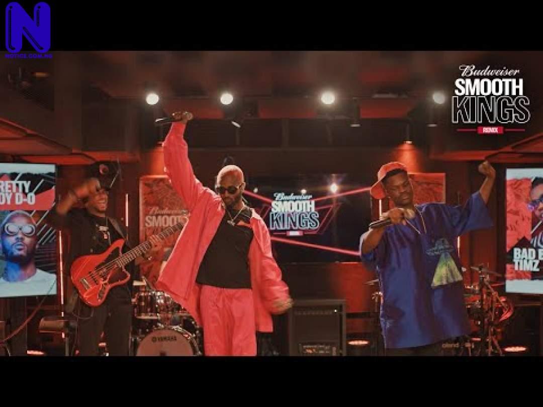 Download Music Mp3: You Don Hit My Car Remix (PrettyboyDO ft Bad Boy Timz) - Budweiser SmoothKings Remix - Season 1 - Episode 7  YOU-DON-HIT-MY-CAR-REMIX-FEAT-PRETTYBOYDO-AND-BAD-BOY-TIMZ-SEASON-1-EPISODE-7-BUDWEISER-SMOOTH-KINGS-REMIX