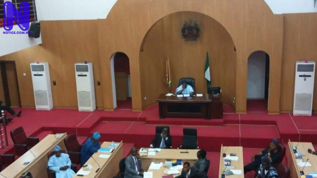 Zamfara Assembly suspends two lawmakers for allegedly working with bandits ZAMFARA-ASSEMBLY-56802