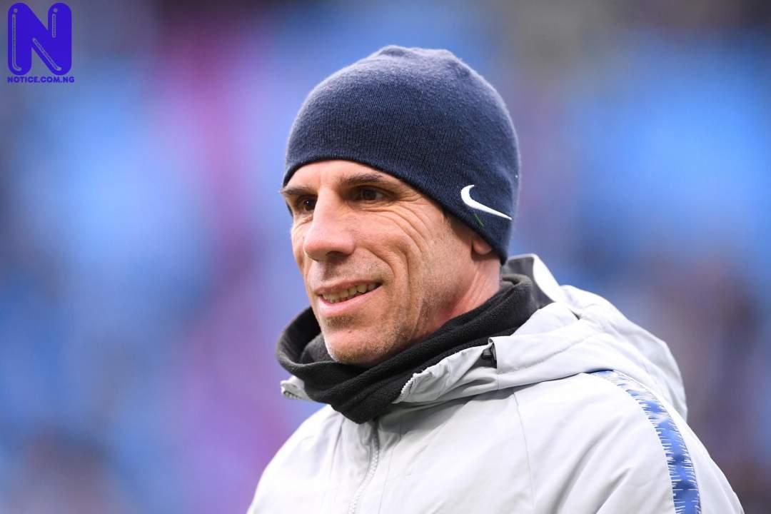 Zola warns Chelsea, identifies Nigerian striker as Lukaku's successor at Stamford Bridge ZOLA233442