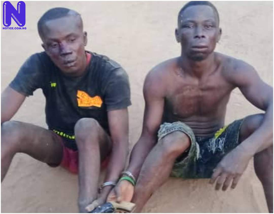 Two arrested after shooting okada rider in Ifo - Ogun ZWM36MHM